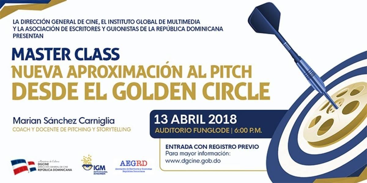 """Realizarán Master Class """"Nueva aproximación al Pitch desde el Golden Circle"""""""