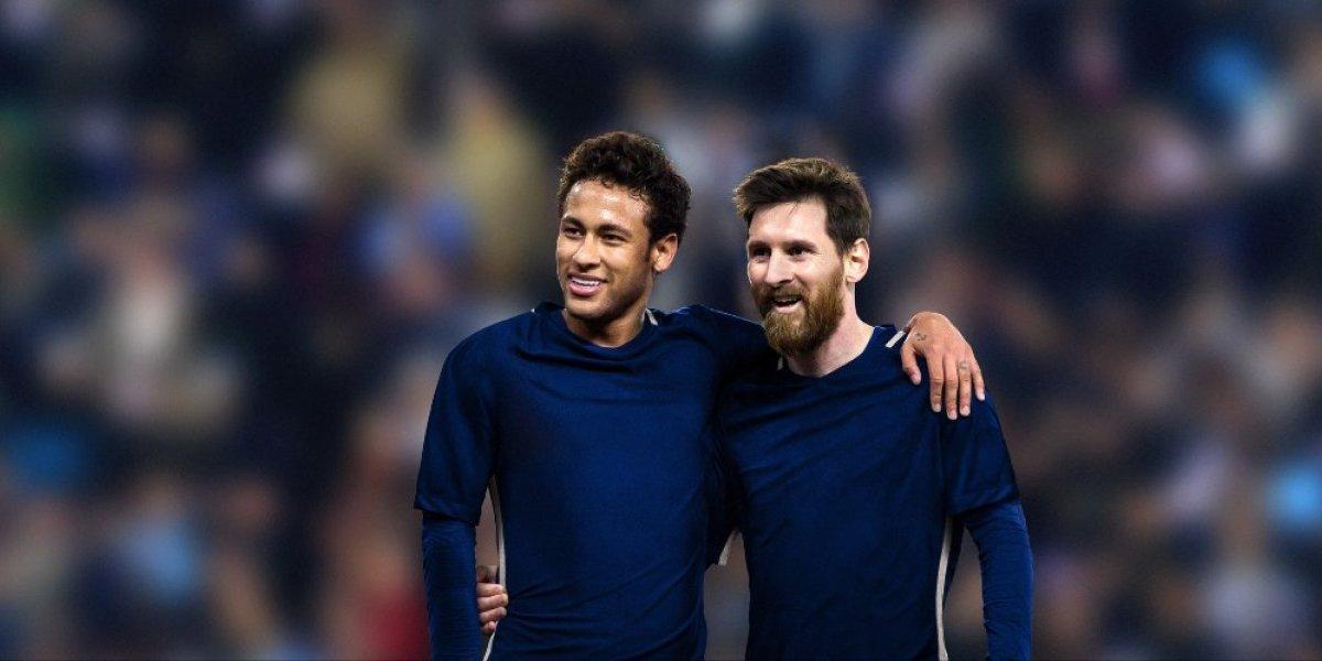 Messi y Neymar se unen en una campaña sin precedentes en favor de los niños