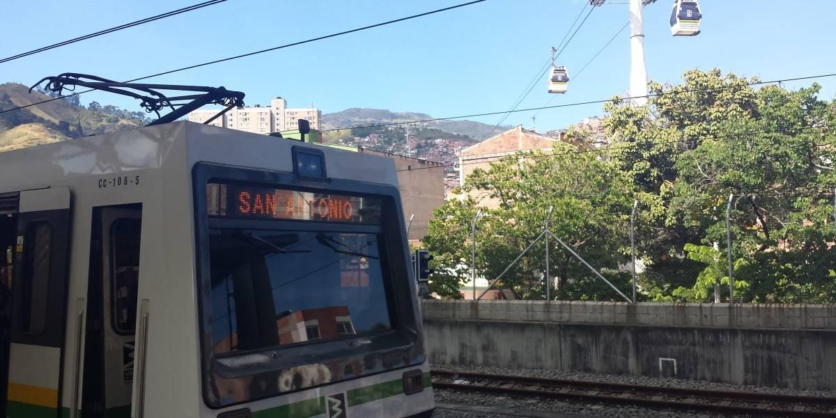 Encuentran persona sin vida en vía férrea del Metro de Medellín