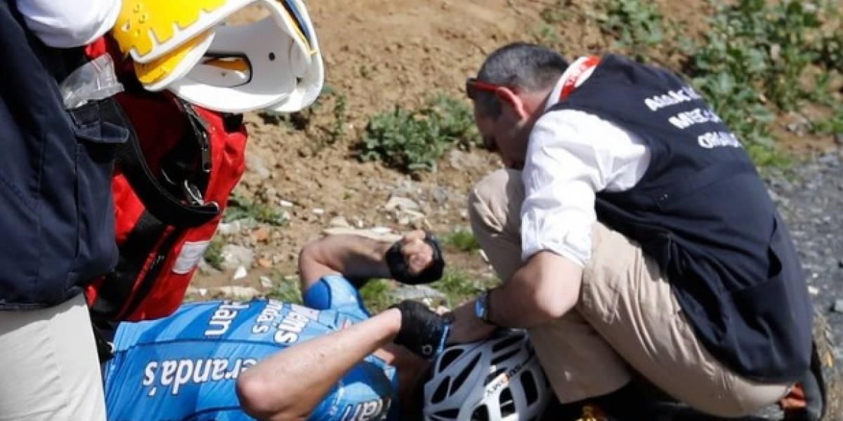 Revelan que ciclista no murió por estar enfermo; fue un paro cardíaco