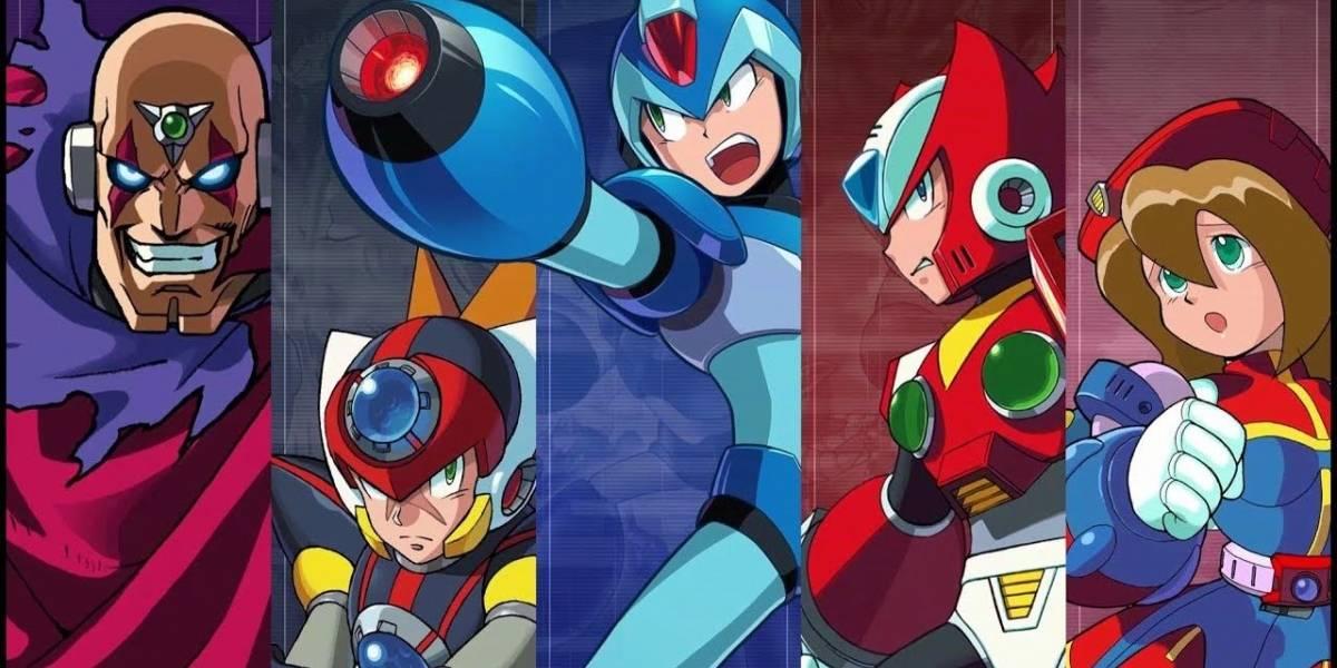 Mega Man X Legacy Collection 1 y 2 llegarán en julio a consolas y PC
