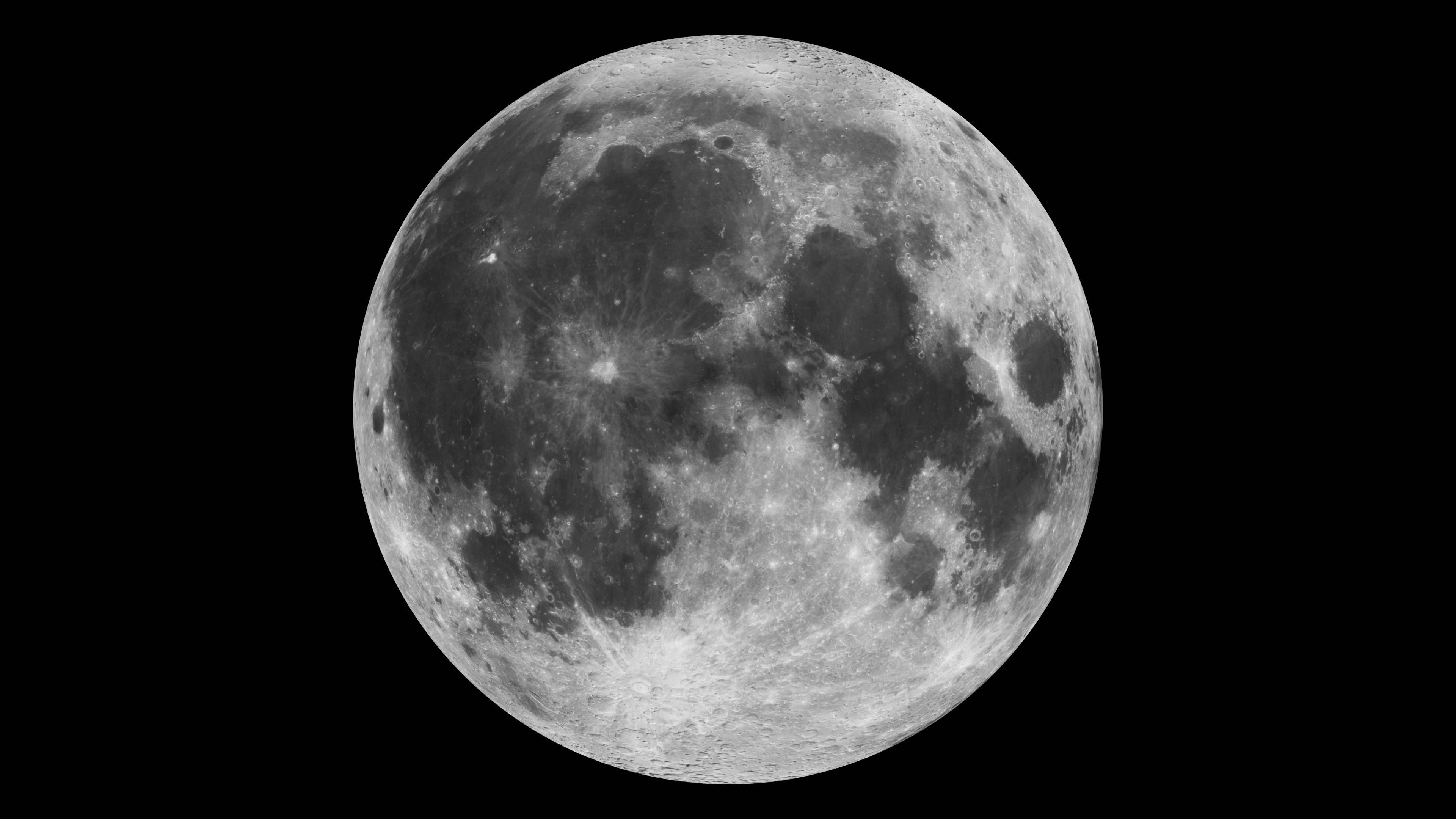 Disfruta de este video de la Luna en  4k creado por la Nasa