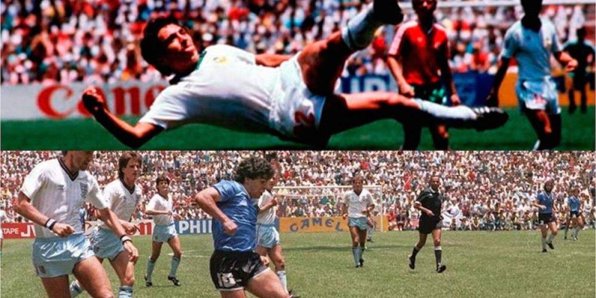¿Manuel Negrete o Diego Armando Maradona, quién hizo el mejor gol de los Mundiales?