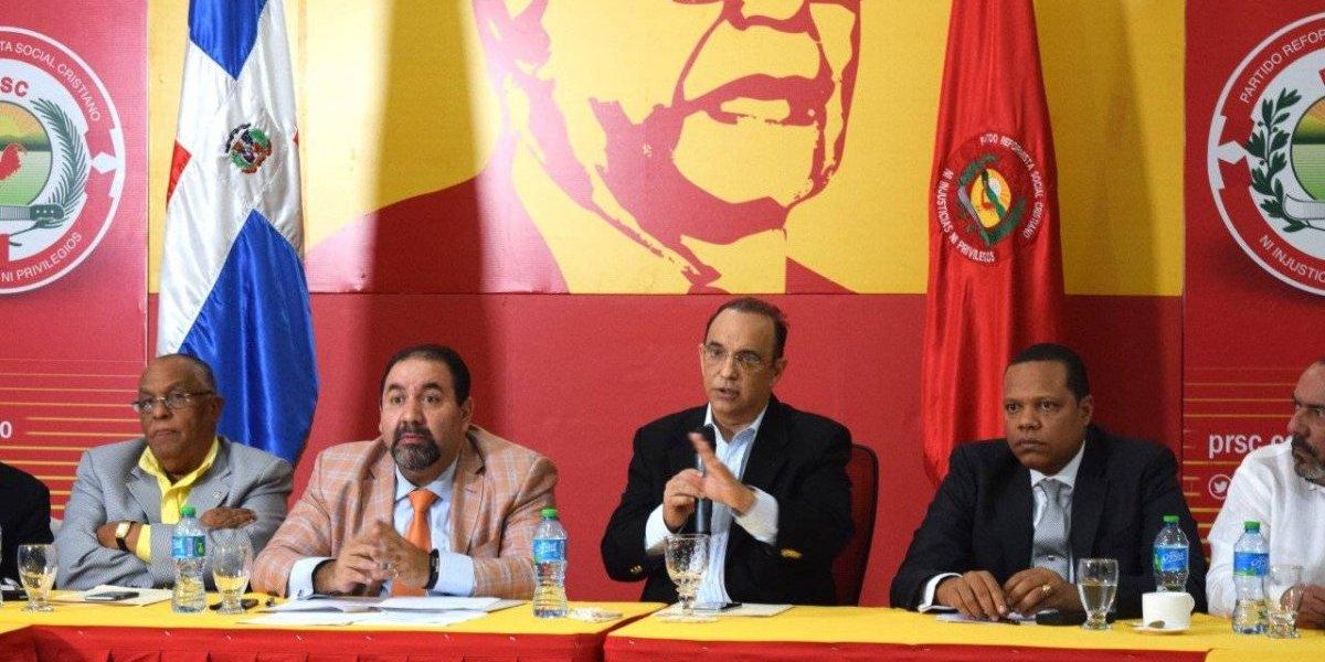 """PRSC califica de """"barbarie"""" decisión del TSE de anular su asamblea"""