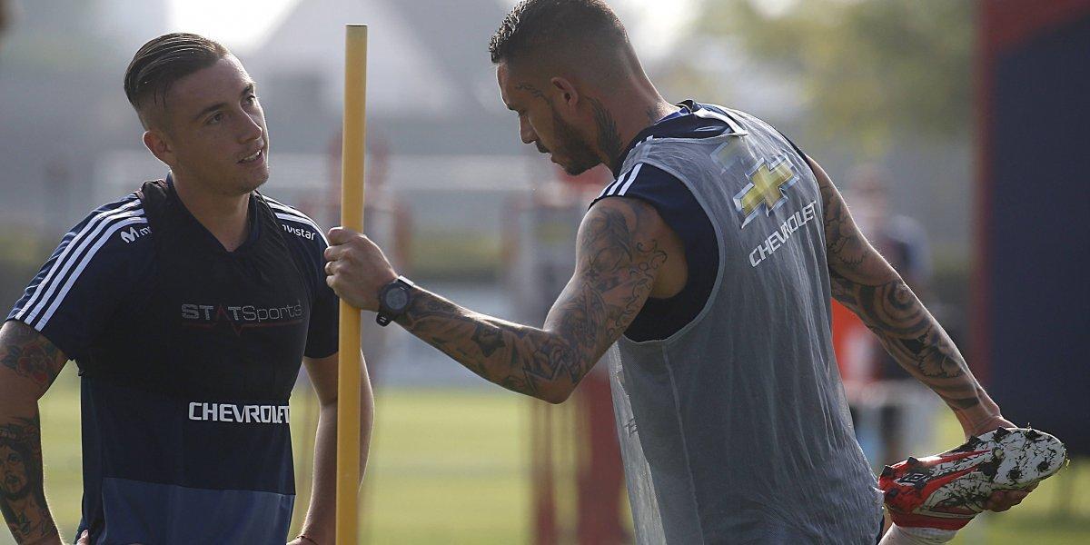 Mauricio Pinilla tiene en vilo a la U antes del Superclásico