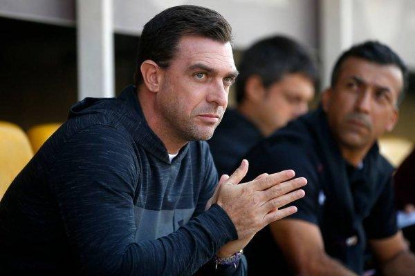 Pablo Guede parece tener los días contados en Colo Colo / imagen: Photosport