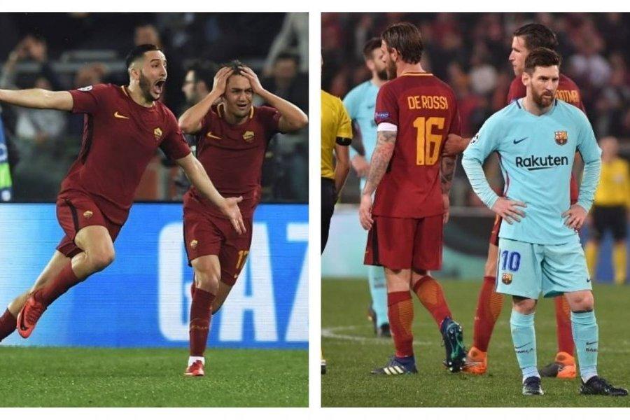 Resultado de imagen para roma vs barcelona 2018