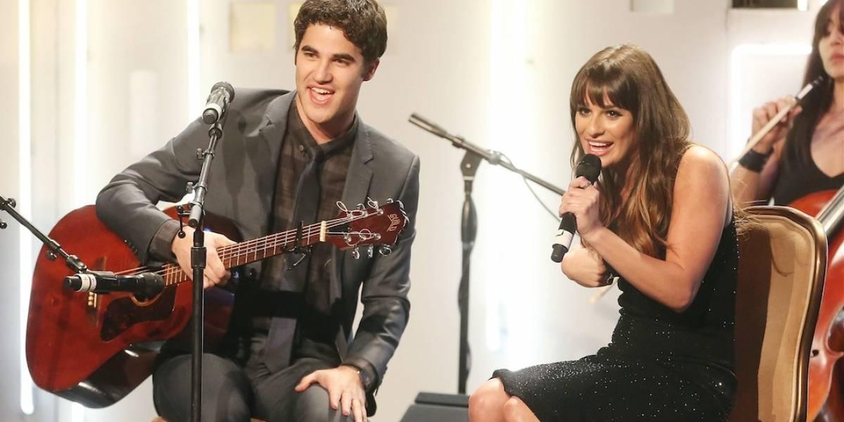 Amigos desde a série Glee, Lea Michele e Darren Criss anunciam turnê conjunta