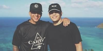 Daddy Yankee y su hijo