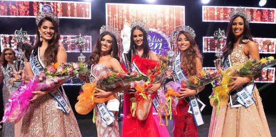 Todas las ganadoras de Miss Teen World Puerto Rico 2018
