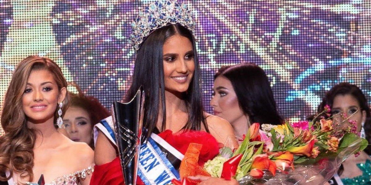 Se va para San Juan corona de Miss Teen World Puerto Rico 2018