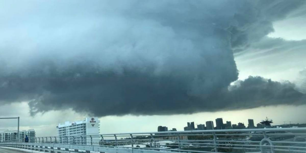 Advertencia de tornado en Fort Lauderdale