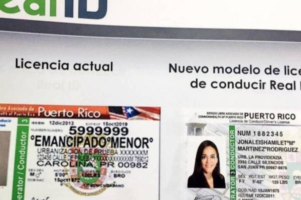 Licencia Real ID