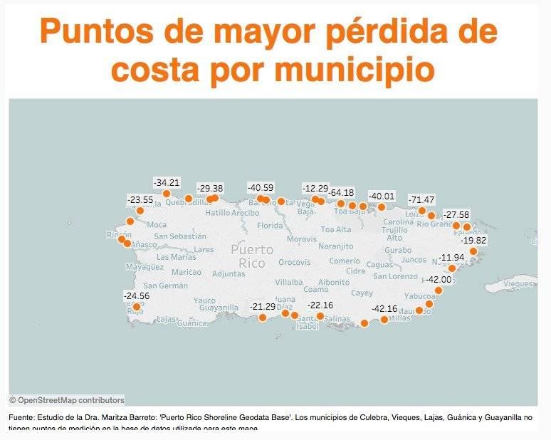 Mapa Costas