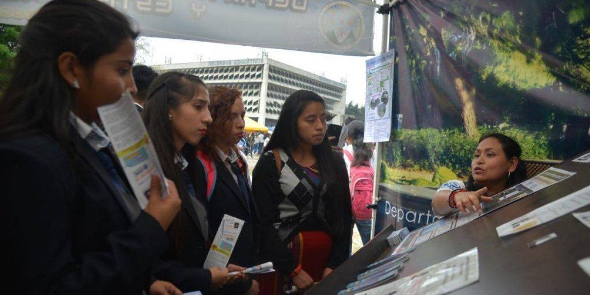 Universidad de San Carlos espera a unos 25 mil estudiantes para el ciclo 2019