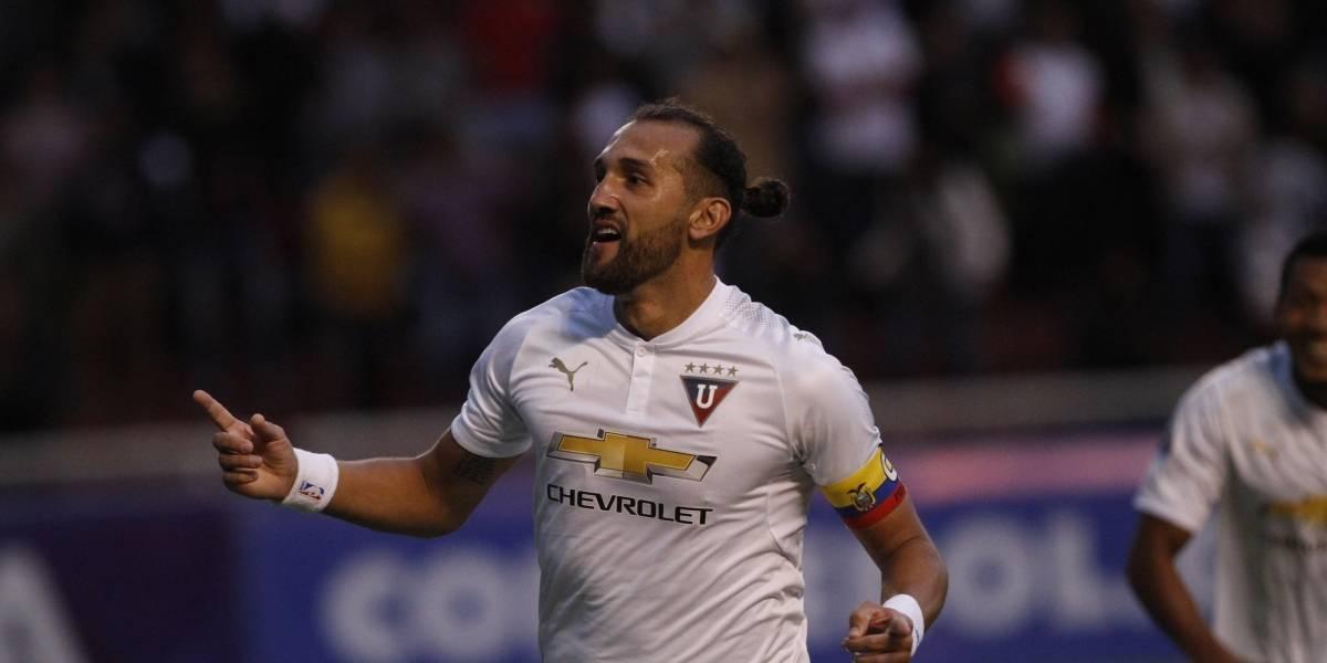 Hernán Barcos, máximo goleador en la historia de la Sudamericana