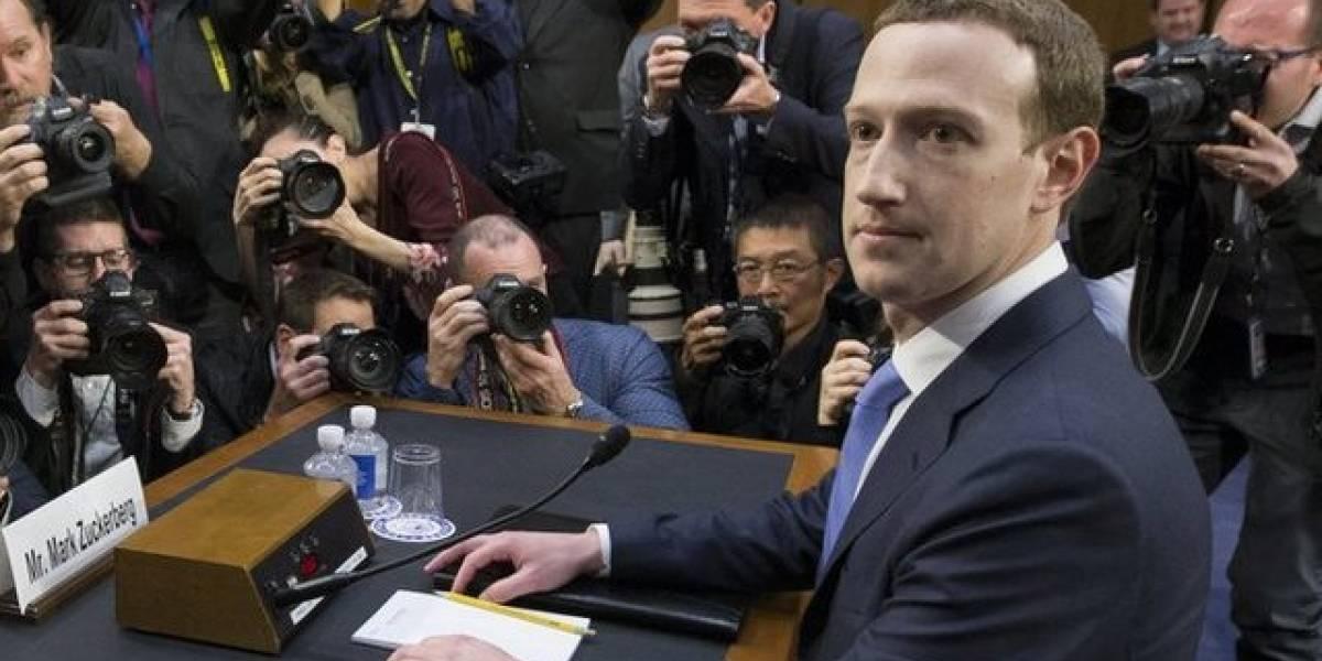 """""""Fue mi error y lo siento"""": Mark Zuckerberg, fundador de Facebook, comparece ante el Congreso de Estados Unidos por el escándalo de Cambridge Analytica"""