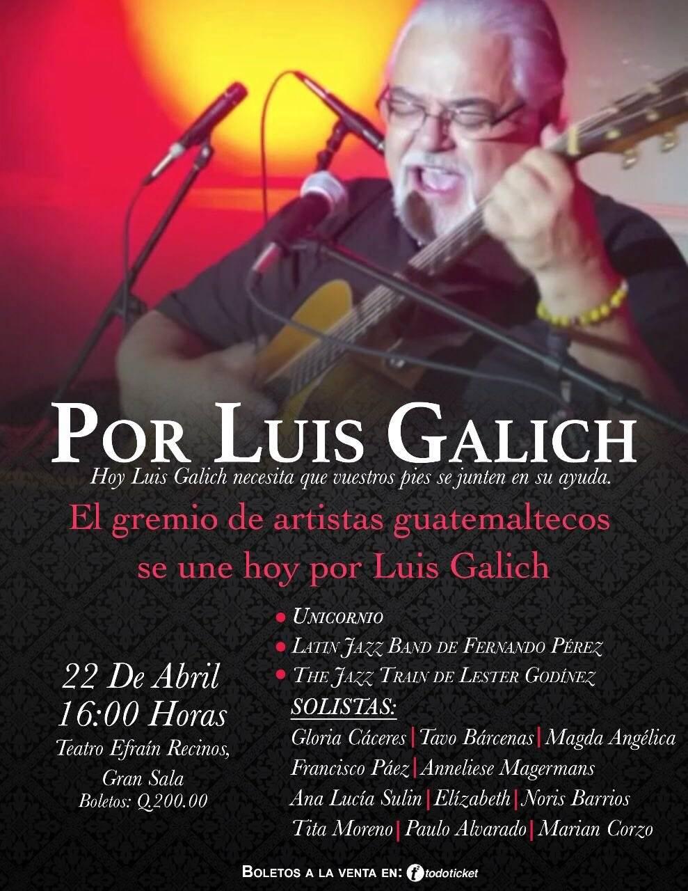 Concierto por Luis Galich