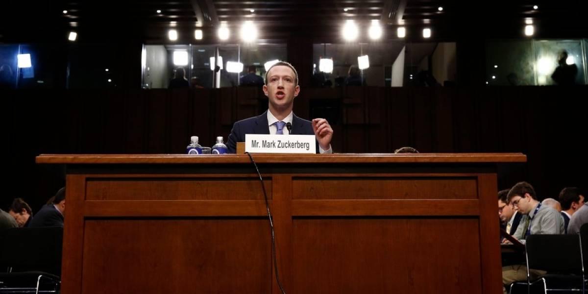 Congreso de Estados Unidos inicia audiencia en contra de creador de Facebook