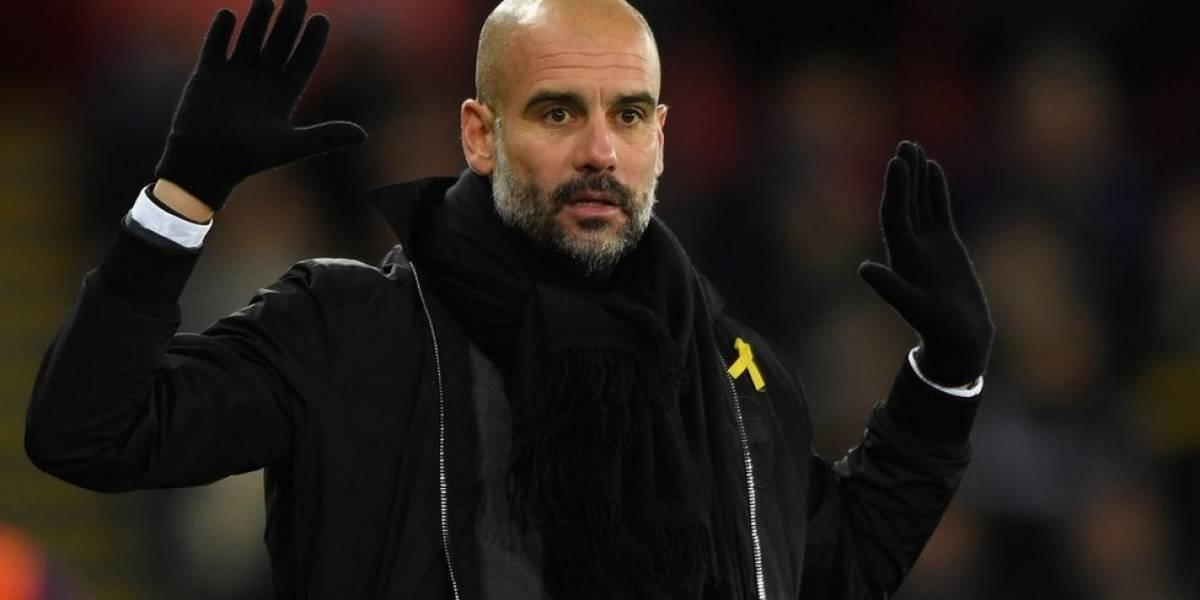 UEFA respondió ante el comportamiento de Pep Guardiola