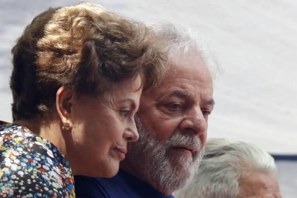 Dilma Rousseff con Lula da Silva