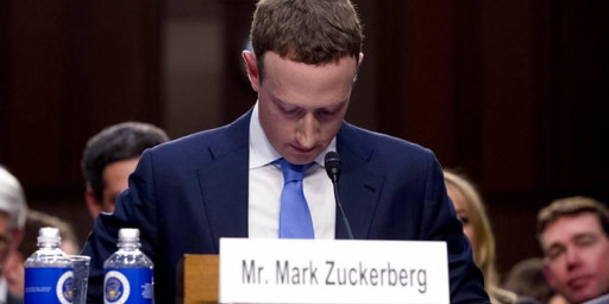 La incómoda pregunta del senador estadounidense Durbin que puso nervioso a Mark Zuckerberg