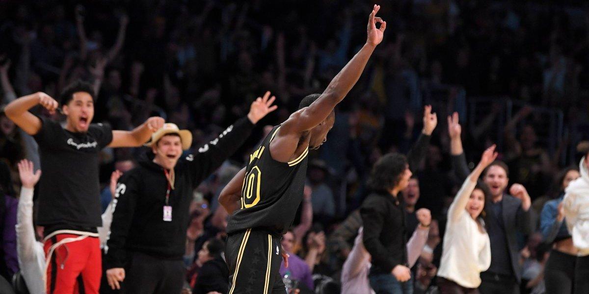 Los sueños se cumplen: debutó a los 32 años en la NBA, los Lakers le hicieron un contrato de 10 días y fue la estrella