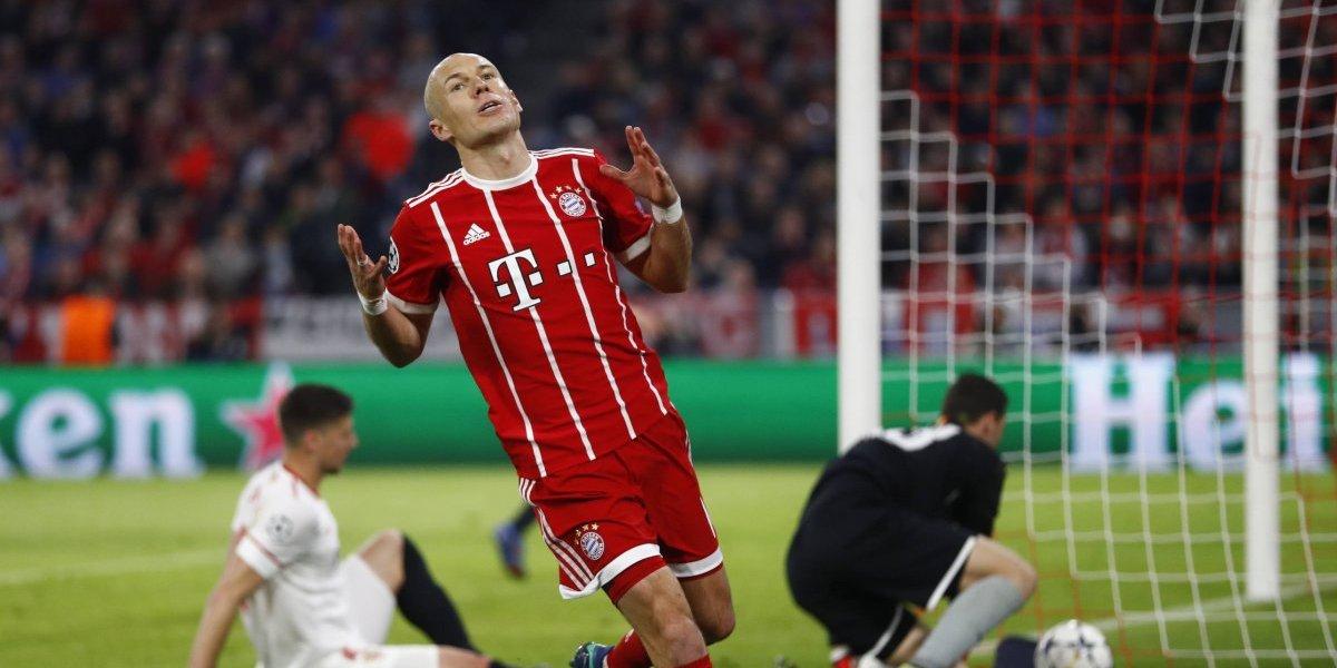 Bayern Munich no estaba para sorpresas y eliminó al Sevilla para avanzar a semis de Champions