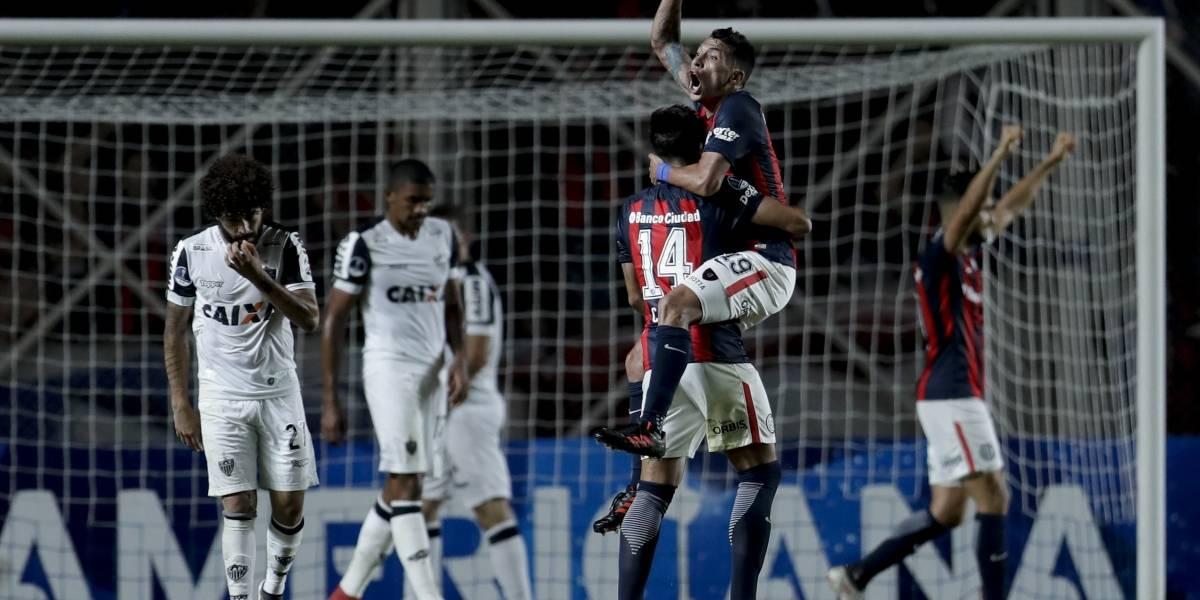 San Lorenzo de Paulo Díaz sacó una leve ventaja en la Copa Sudamericana