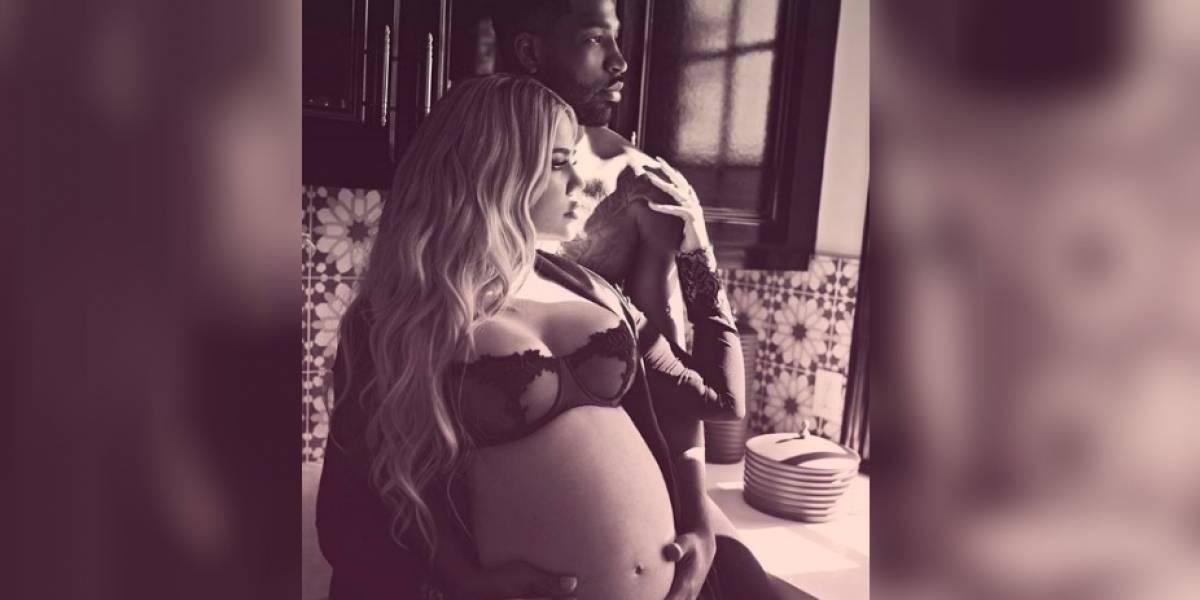 Jugador de NBA engaña a Khloé Kardashian previo al nacimiento de su bebé