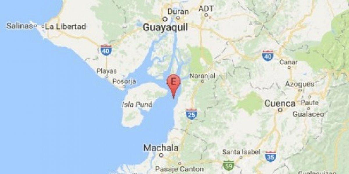 Se registró sismo de 4.6 grados en Balao, Guayas