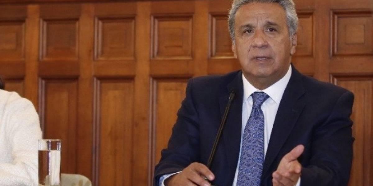 """Lenín Moreno dice secuestro de periodistas es """"problema del mundo"""""""