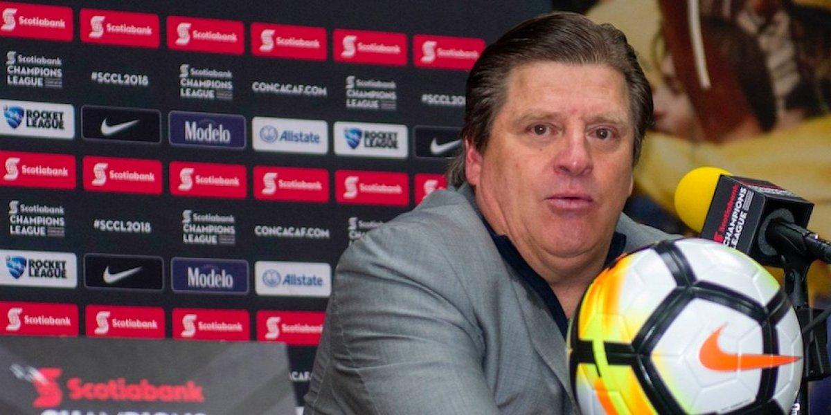 Miguel Herrera, frustrado tras eliminación de Concachampions