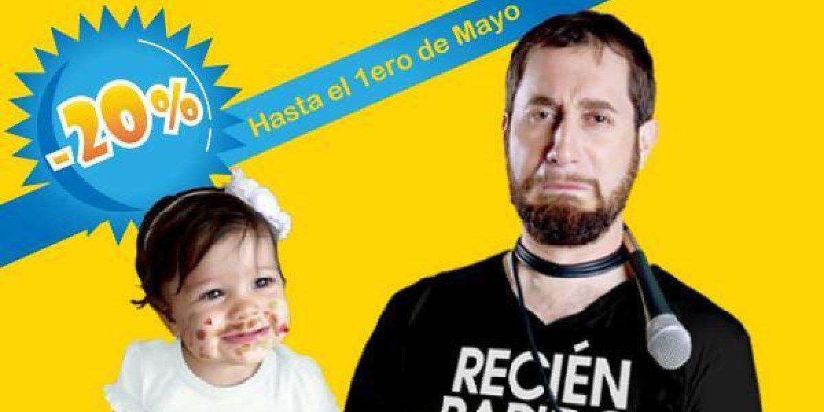 Carlos Sánchez realizará show para las madres, el 26 de mayo en Escenario 360