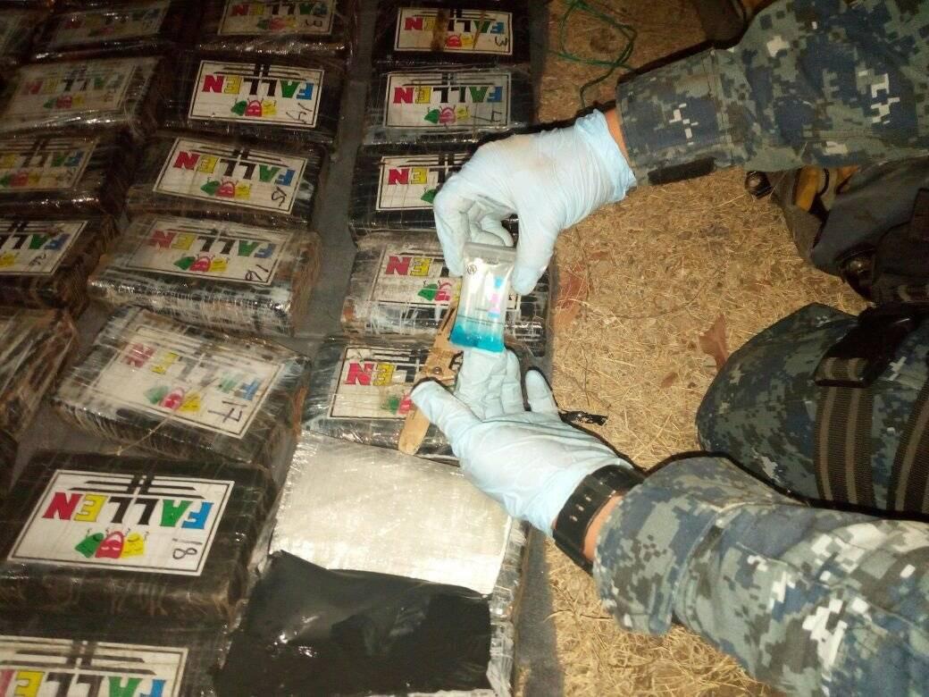 localizan cocaína en Zacapa