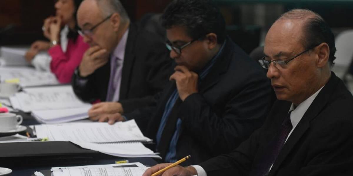 Otros siete candidatos quedan excluidos de la elección de jefe del MP