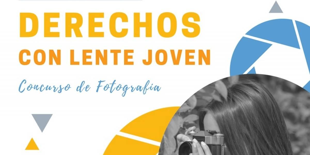 """Continúa abierta convocatoria al concurso fotográfico: """"Derechos con lente joven"""""""