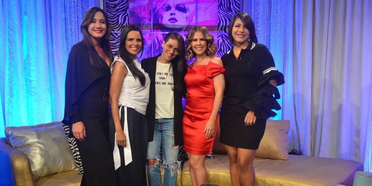 """Condesa habla sobre su hija Jessica en el programa """"Mujeres al Borde"""""""