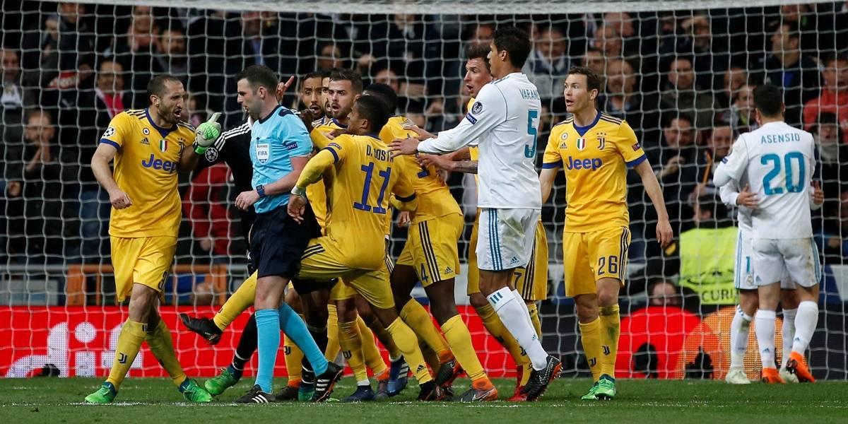 Real se salva com gol polêmico no fim e evita 'milagre' da Juventus na Liga dos Campeões