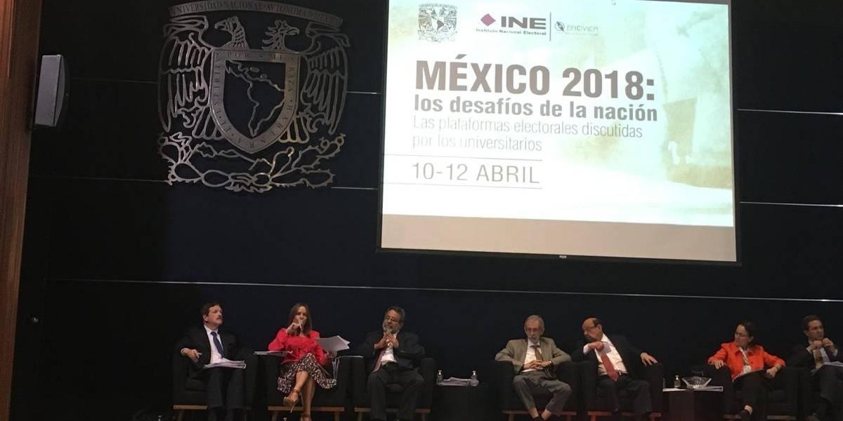 Expertos de la UNAM pide a candidatos propuestas en medio ambiente