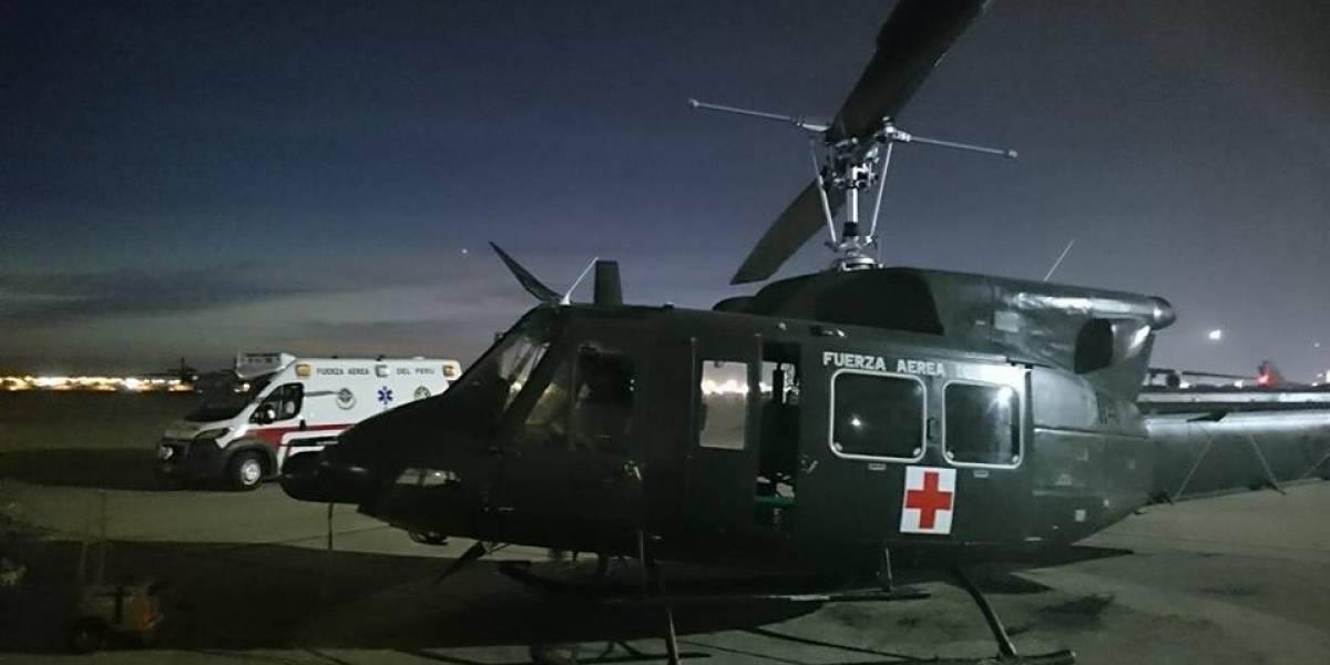 Gran operativo de amor: trasladan corazón en avión y helicóptero para trasplantar a un niño