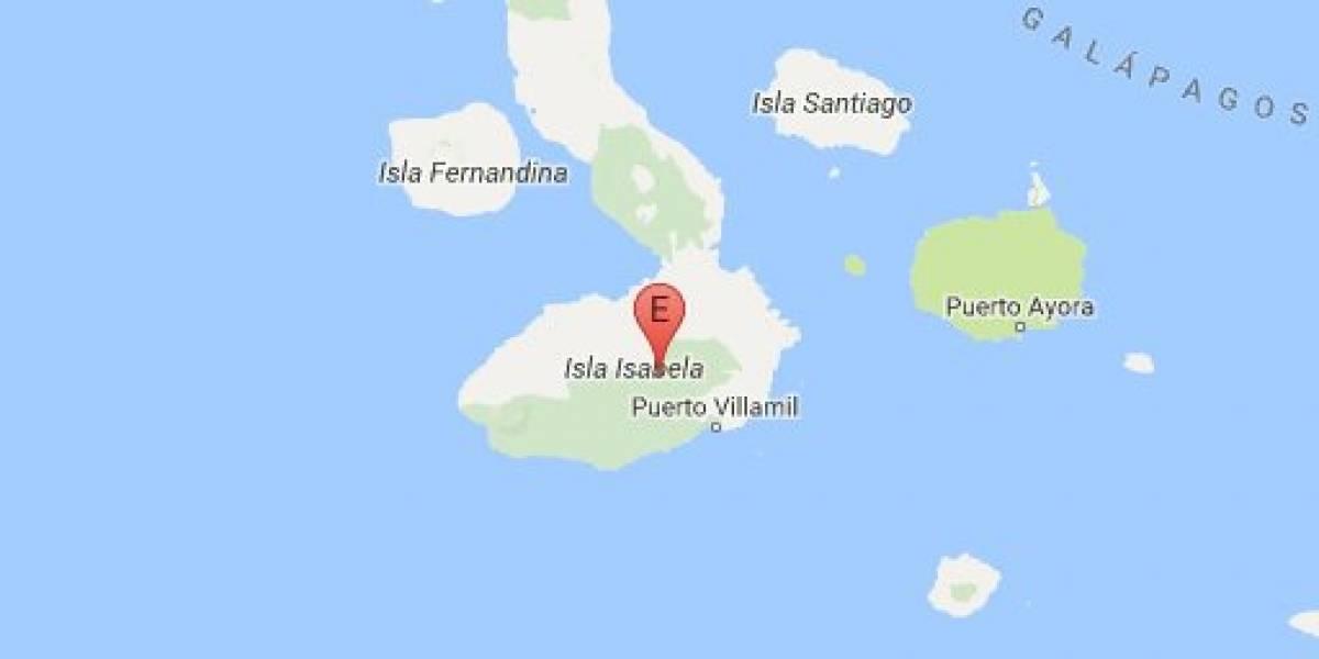 Sismo de magnitud 4 en Galápagos