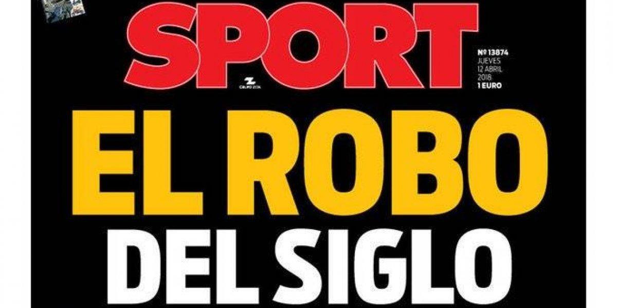 """""""El robo del siglo"""": La airada reacción de los medios internacionales tras el escándalo Real Madrid-Juventus"""