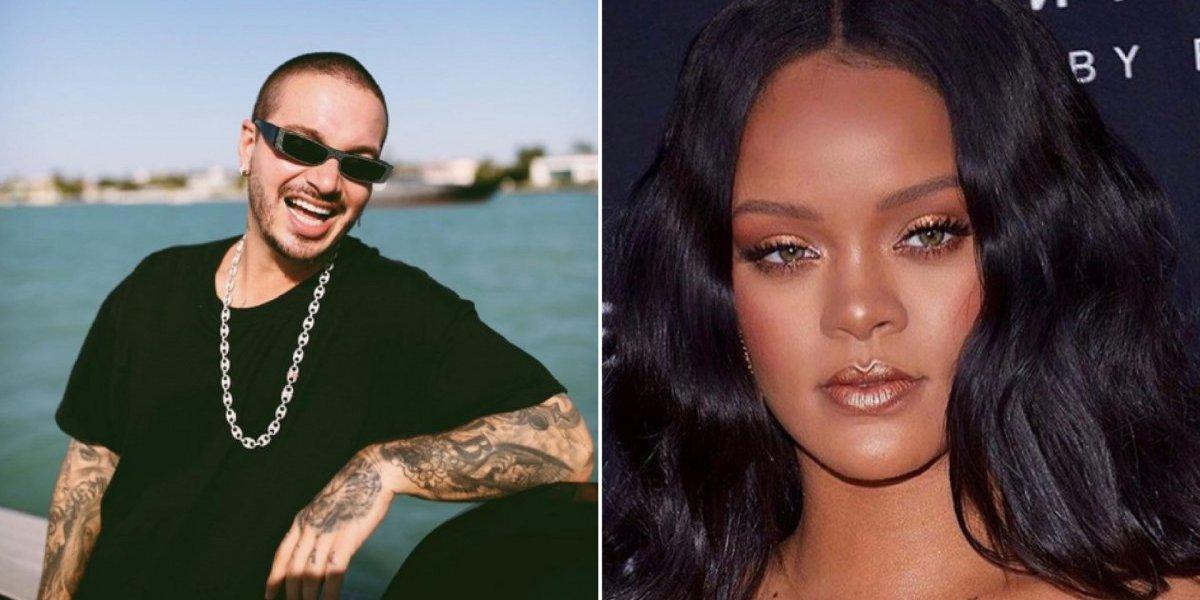 J Balvin faz comentário sobre Rihanna e internet o chama de machista