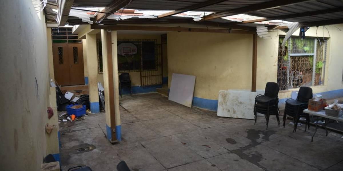 Vidrios quebrados y mobiliario destrozado: Así quedó el Hogar Seguro en zona 15