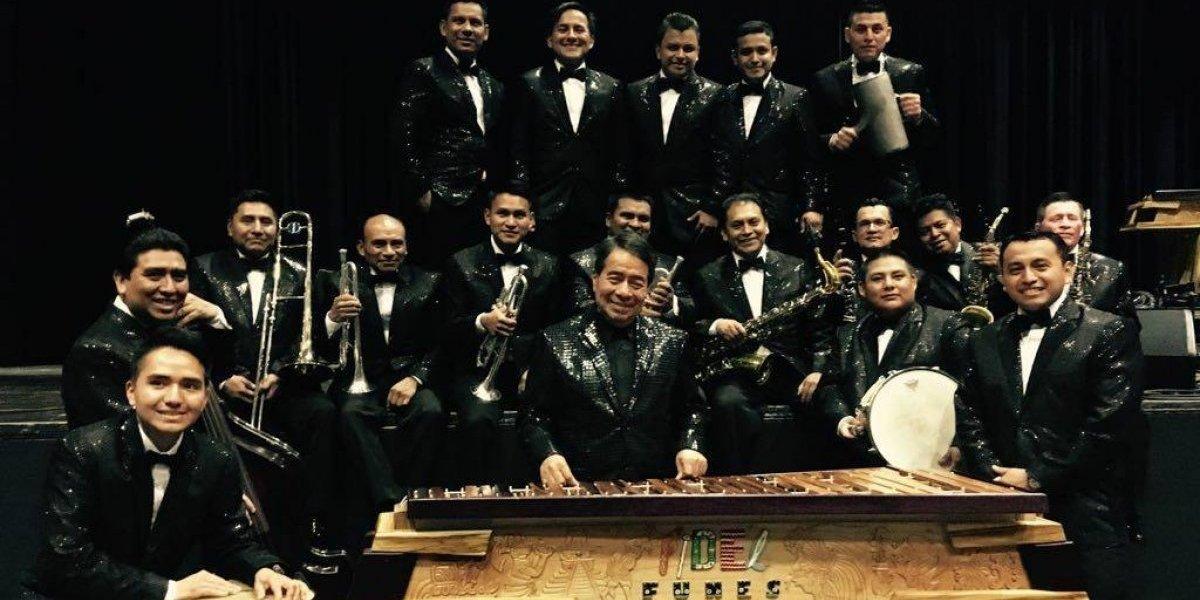 Fidel Funes y su marimba orquesta llevarán su música a  Asia