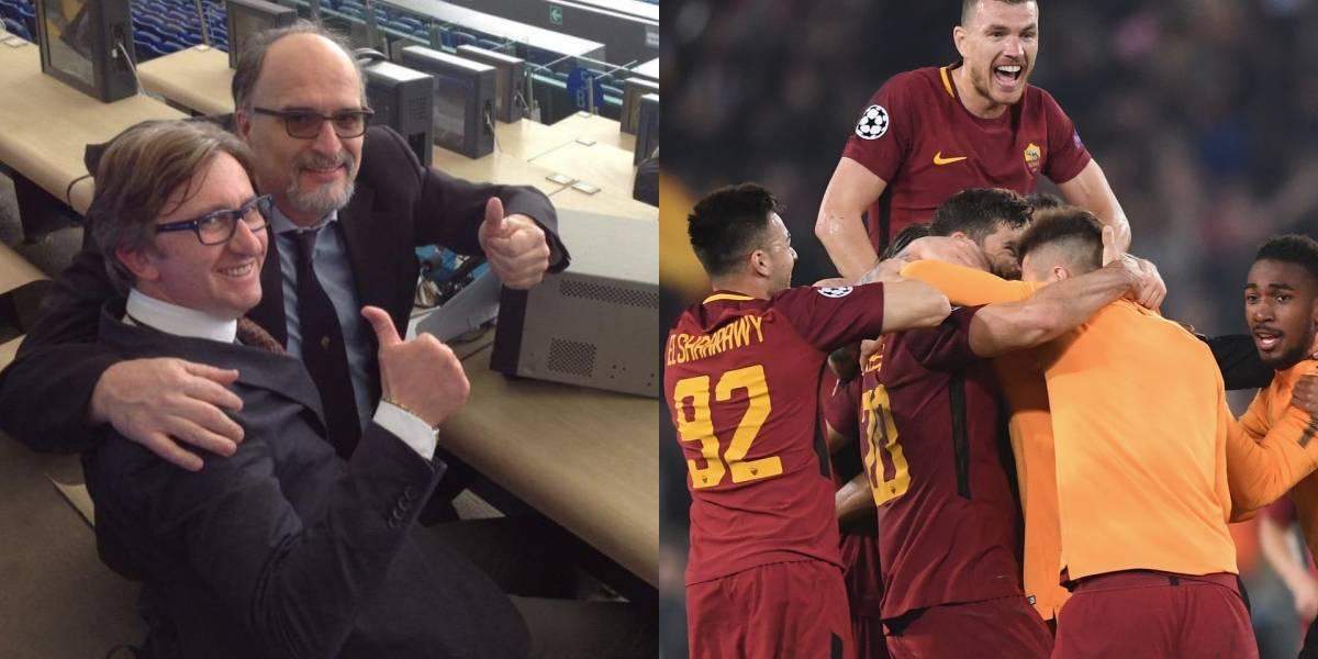 Estremecedor relato tras clasificación de la AS Roma en Champions League