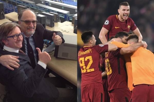 Estremecedor relato tras clasificación de la AS Roma