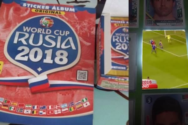 Álbum del Mundial Rusia 2018 con realidad aumentada
