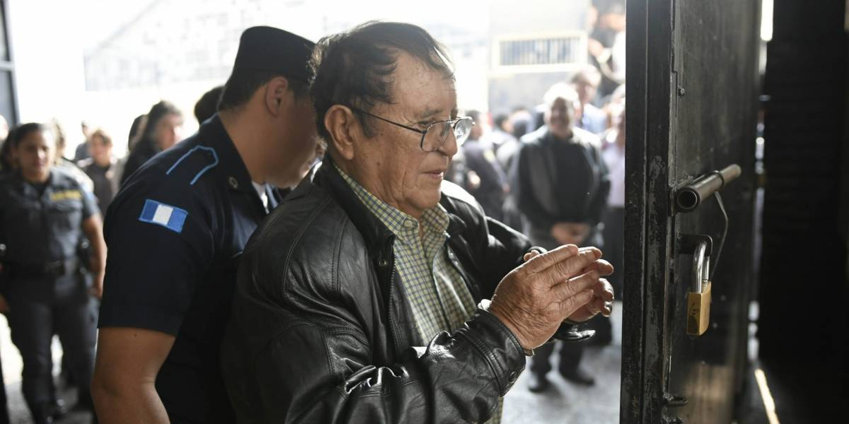Gordillo Martínez pedirá un abogado de la defensa pública